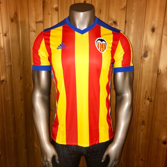 outlet store 7e207 945dc NWT! Adidas Valencia C.F. Men's Soccer Jersey NWT